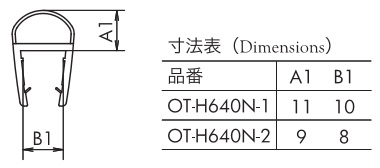 エッジシール OT-H640N仕様