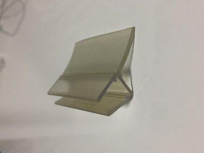 画像2: エッジシール 8858型/ガラス厚6、8mm用/長さ:2.5m×2本