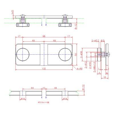 画像2: ステンレスジョイントフィックス(180°タイプ)