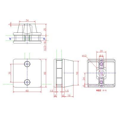 画像2: ステンレスフィックス(両側タイプ)