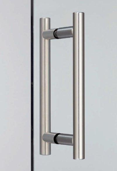 画像1: ステンレス鋼(SUS316)製ドアハンドル 8060VA型