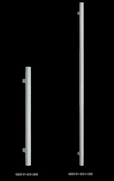 画像1: ステンレス ヘアラインハンドル(両側タイプ)/全長:1300mm
