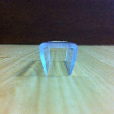 画像2: エッジプロテクター GP型/ガラス厚6〜15mm用/長さ:3m×2本