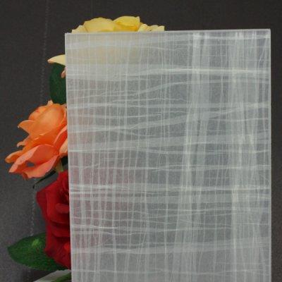 画像1: 和紙合わせガラス「紬(TSUMUGI)」