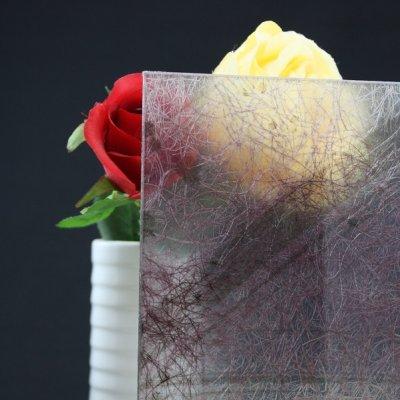画像1: 和紙合わせガラス パープル