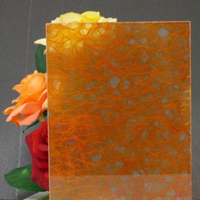 画像1: 和紙合わせガラス「靄(MOYA)」
