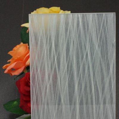 画像1: 和紙合わせガラス「黄砂(KOUSA)」