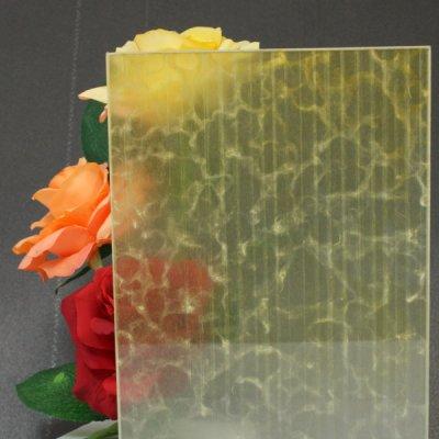 画像1: 和紙合わせガラス「雨(AME)」