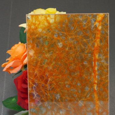 画像1: 和紙合わせガラス「揺らぎ(YURAGI)」