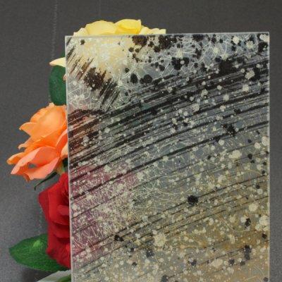画像1: 和紙合わせガラス「稲穂(INAHO)」