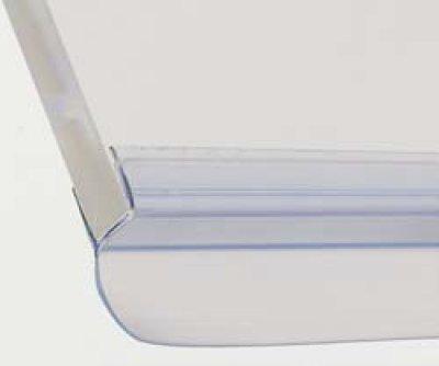 画像2: 浴室ガラスドア用エッジシール3本(Aセット)/ガラス厚8mm用