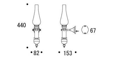 画像2: インテリア照明 BR2026 CR CL