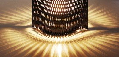 画像3: スタンド照明 こもれび 樹(黒)