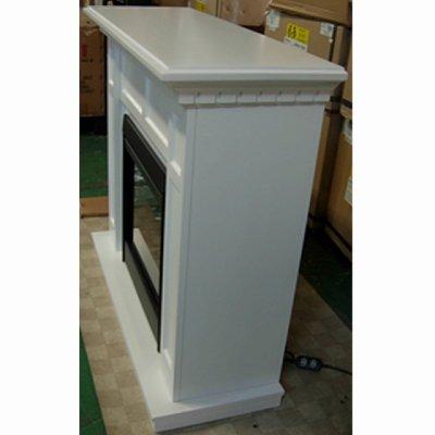 画像1: 電気式暖炉 キャップライス(ホワイト)