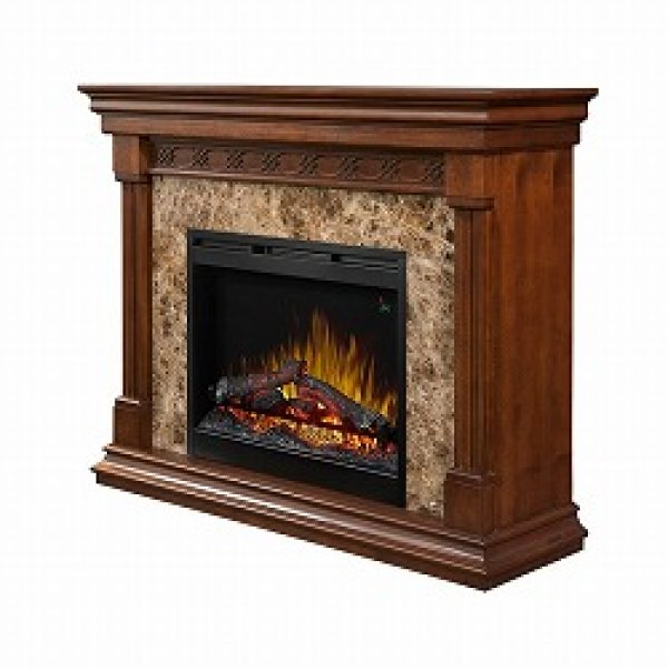 26インチ 電気式暖炉 アルコット