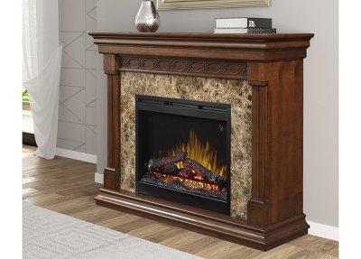 画像1: 電気式暖炉 アルコット