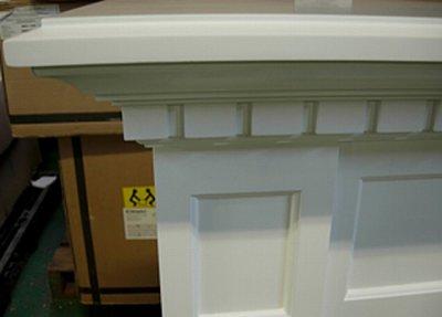 画像2: 電気式暖炉 キャップライス(ホワイト)