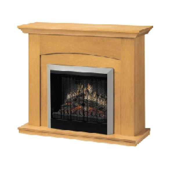 画像1: 電気式暖炉 コンテンポラリー (1)