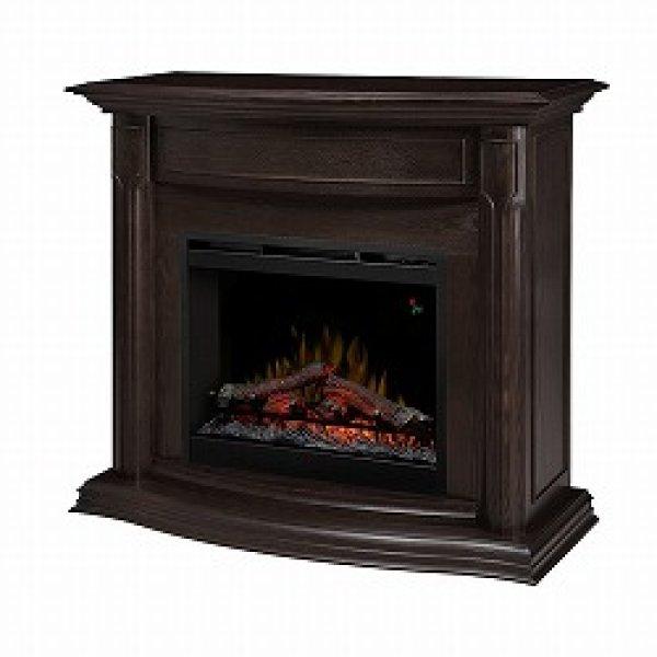 26インチ 電気式暖炉 グウェリントン-エスプレッソ