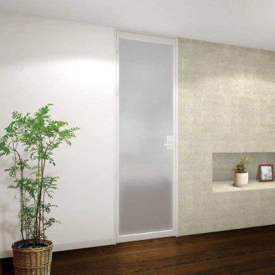 画像1: アルミ+ガラスドア【開き戸】