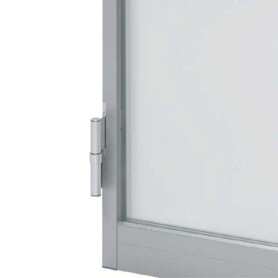 画像2: アルミ+ガラスドア【開き戸】