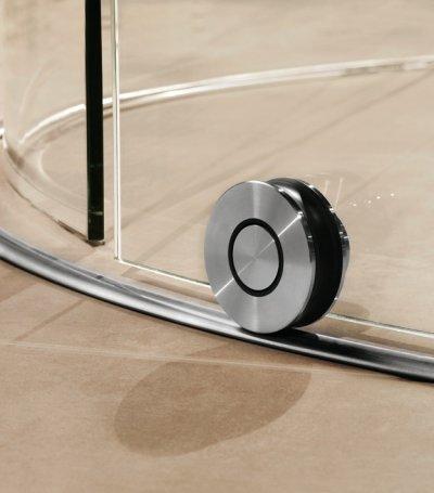 画像3: ガラス円柱シャワーブース引戸 テラ