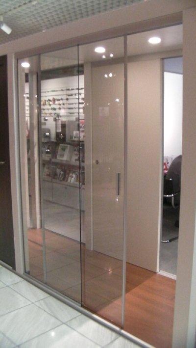 画像2: 浴室・シャワー室ガラスドア(壁取付タイプ)