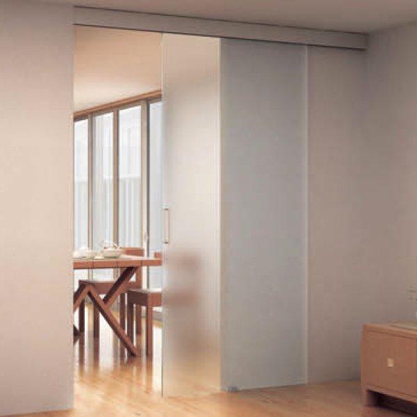 画像1: ガラスドア(引き戸) ポルタ G100 (1)