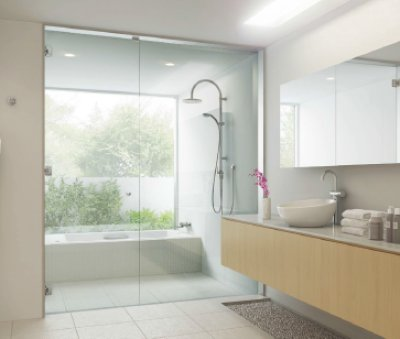 画像3: ガラスドア用自由丁番 M8500型 壁取付タイプ