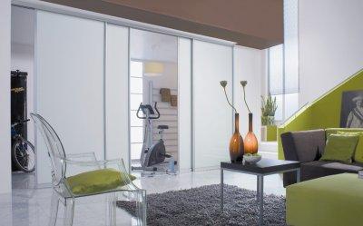 画像2: ガラスドア(引き戸) サイレントアルフレックス80