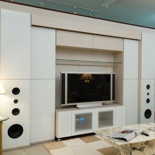 画像1: ホームシアター壁面収納システム (1)