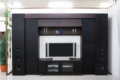画像1: ホームシアター壁面収納システム