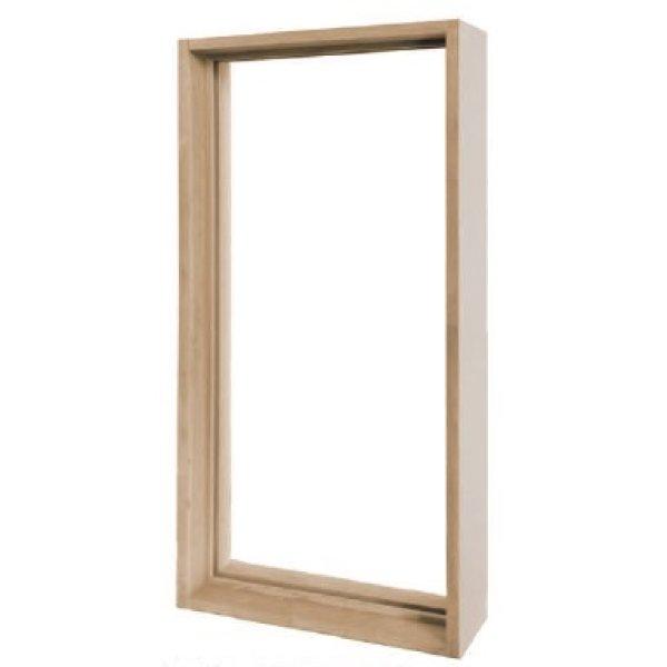 画像1: 【送料無料】ステンドグラス Aサイズ専用木枠 (1)
