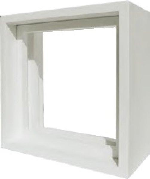 画像1: 【送料無料】ステンドグラス Dサイズ専用木枠 (1)