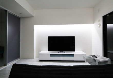 「TVボード」ホワイト