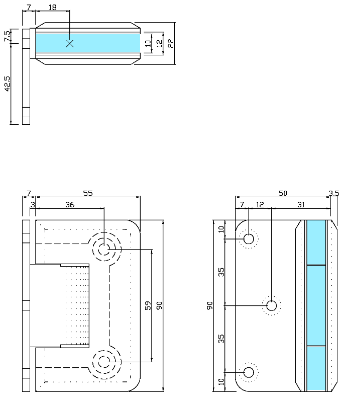 寸法図 B8201-3