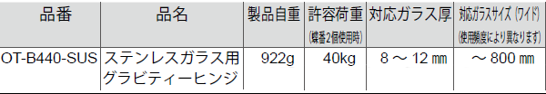 OT-B440詳細