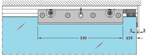 trolley hanger 120 kg