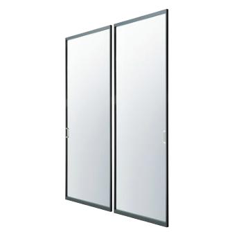 アルミ枠ガラス引戸『住楽(じゅら)』JURA-BK-N ガラス