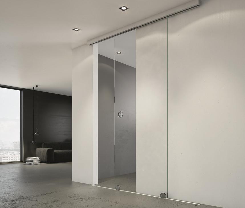 slidoデザイン 150-Uガラス扉用引戸用金具